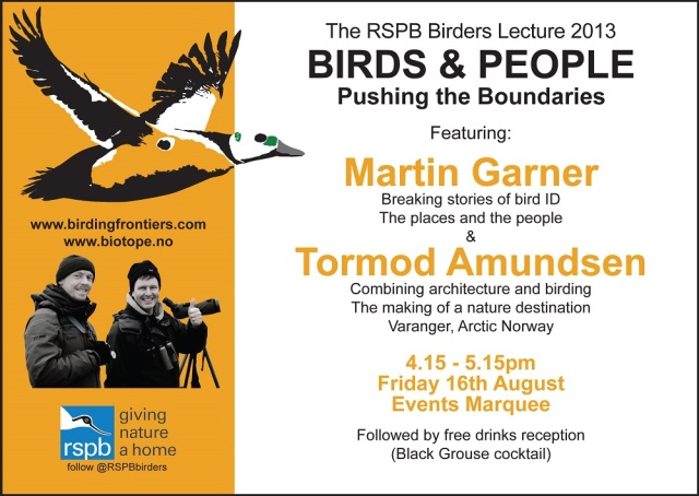Birdfair promo PB Tour small