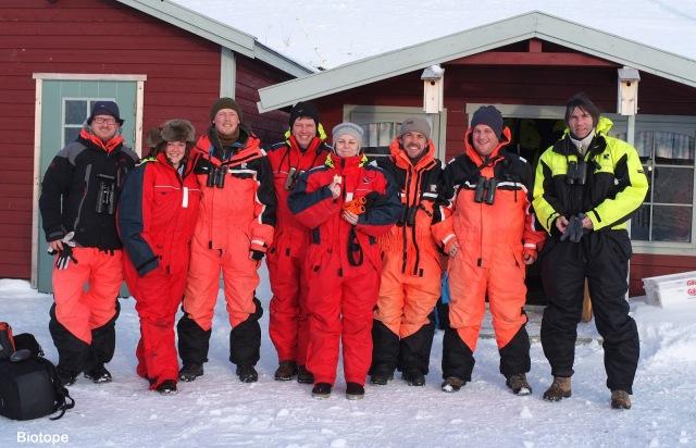 gullfest2013 Ateam of birding båtsfjord Amundsen Biotope