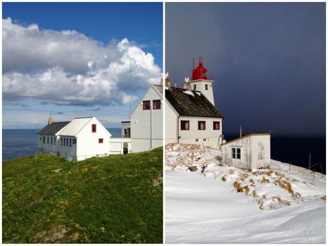 Hornøya lighthouse tormod Amundsen