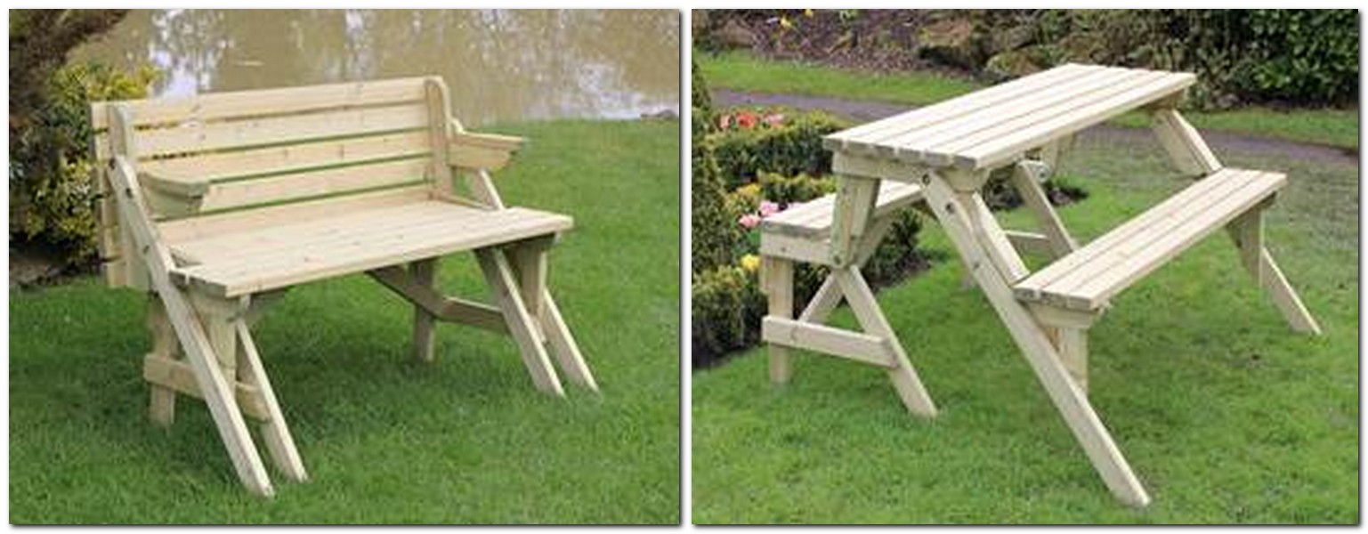 Park Bench Picnic Table Plans